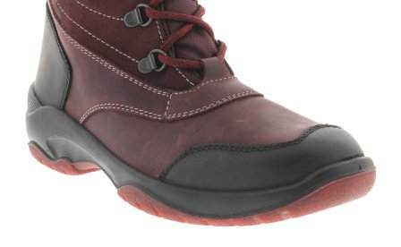santana canada, topspeed tall, winter boot, sportismo collection, bordeaux, toe