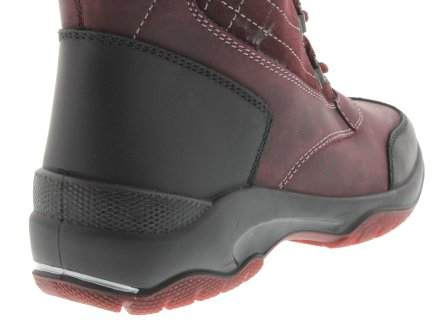 santana canada, topspeed tall, winter boot, sportismo collection, bordeaux, heel