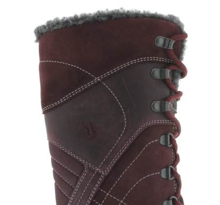 santana canada, topspeed tall, winter boot, sportismo collection, bordeaux, upper