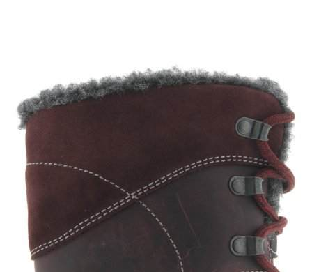 santana canada, topspeed tall, winter boot, sportismo collection, bordeaux, fur