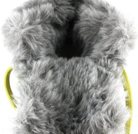 apres ski collection, santana canada, maldine, grey, inside fur