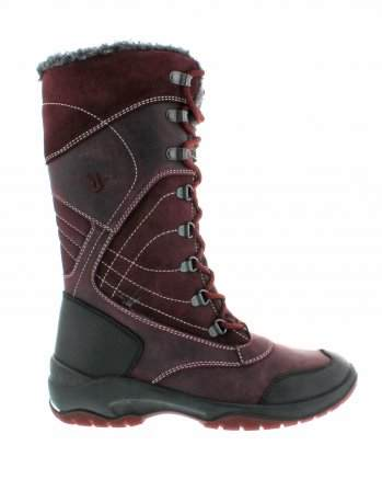 santana canada, topspeed tall, winter boot, sportismo collection, bordeaux, profile