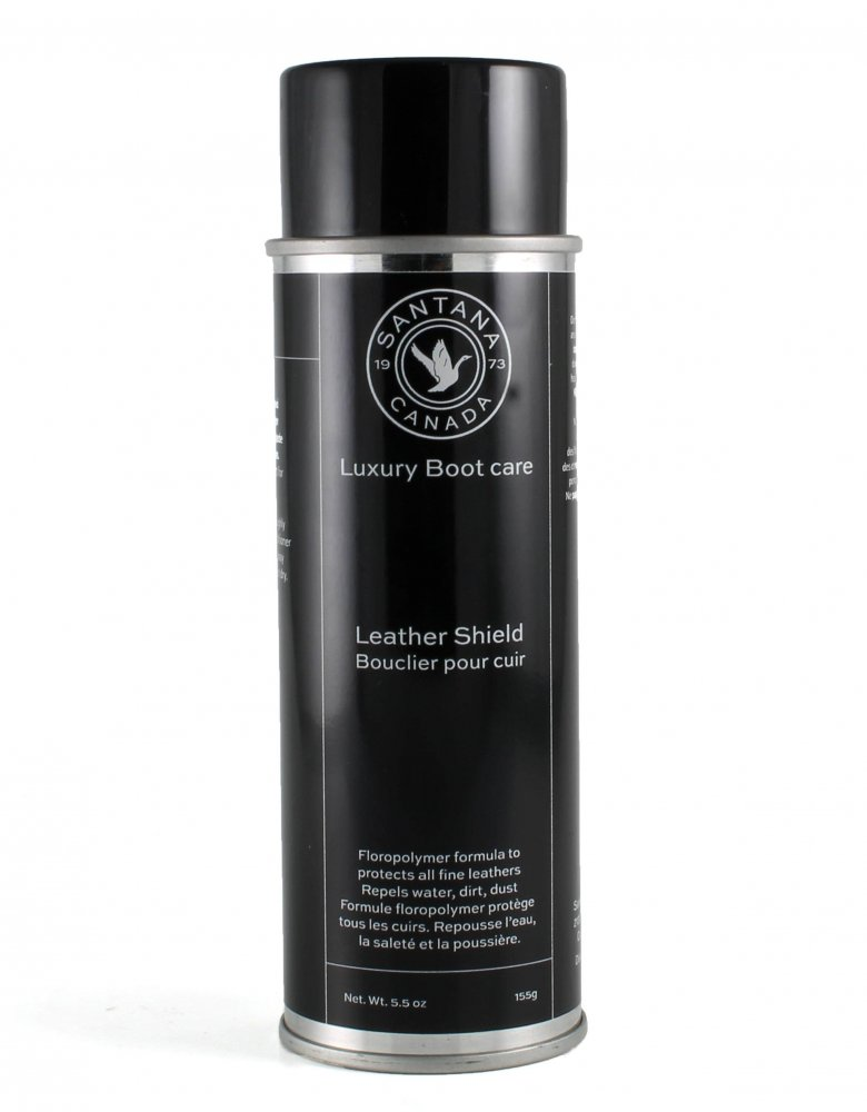 leather shield spray, luxury boot care, santanacanada, main