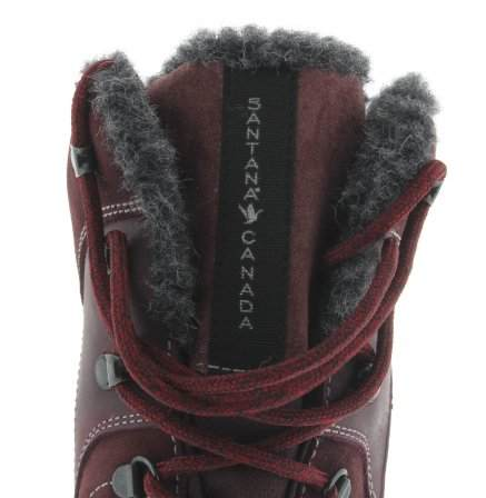 santana canada, topspeed tall, winter boot, sportismo collection, bordeaux, front