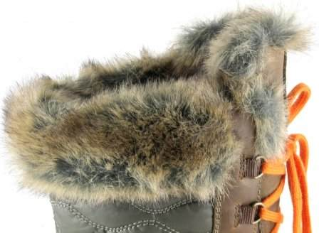 apres ski collection, santana canada, maldine, chestnut, top fur