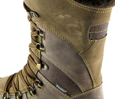 apres ski collection, santana canada, morella, brown, laces