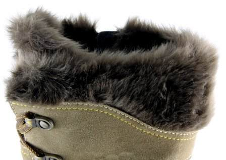 apres ski collection, santana canada, morella, brown, top fur