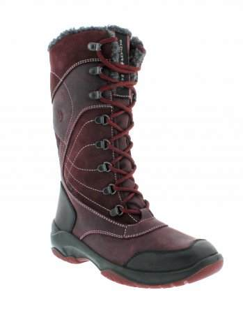 santana canada, topspeed tall, winter boot, sportismo collection, bordeaux, main
